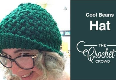 Crochet Cool Beans Hat