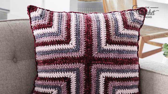 Crochet Mitered Pillow Pattern