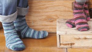 Crochet Family Socks
