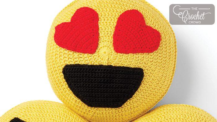 Heart Emoji Pillow