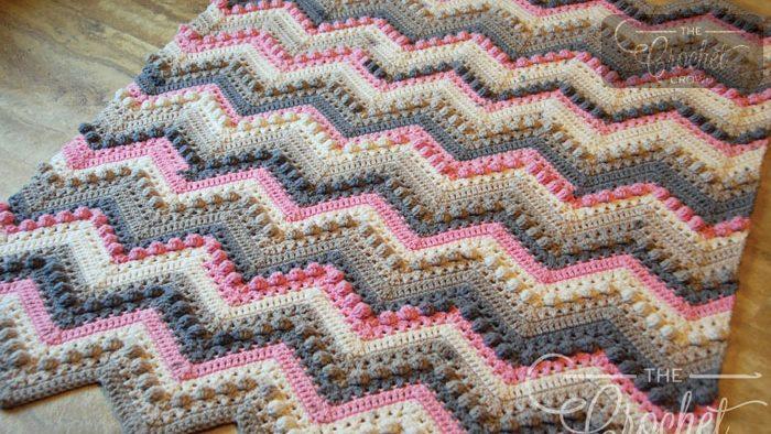 Crochet Hugs Kisses Baby Blanket Tutorial The Crochet Crowd