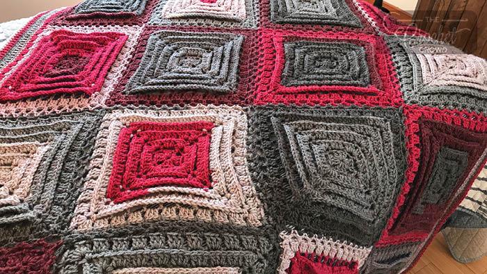 Crochet Hypnosis Afghan