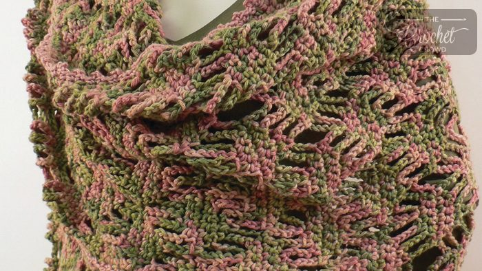 Crochet Lattice Stitch