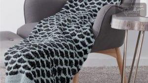 Lattice Shells Stitch Blanket