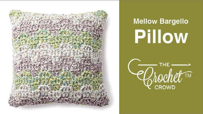 Crochet Mellow Bargello Pillow