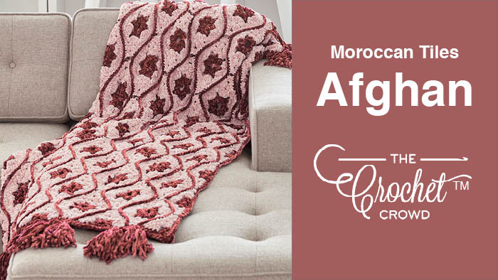 Crochet Moroccan Tiles Afghan
