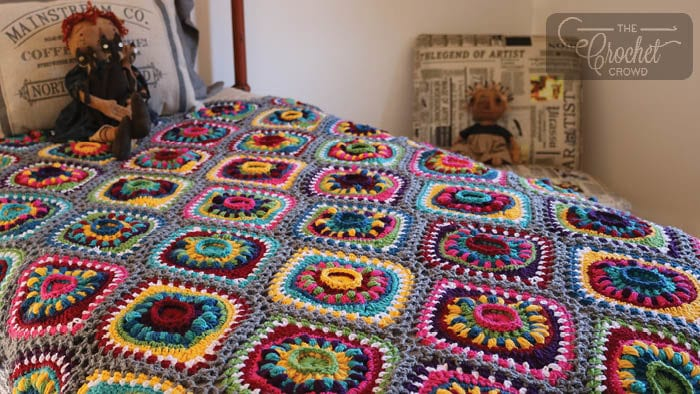Ornament Afghan FInal Picture