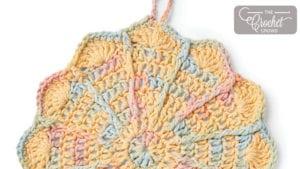 Crochet Pinwheel Dishcloth
