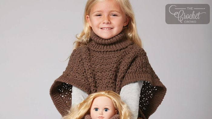 Crochet Poncho You and Me