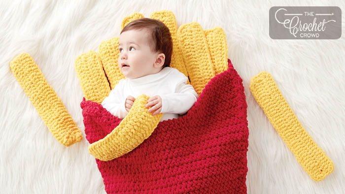 Crochet Small Fry Snuggle Sack