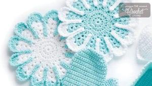 Crochet Spa Facecloth