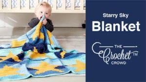 Crochet Starry Sky Blanket