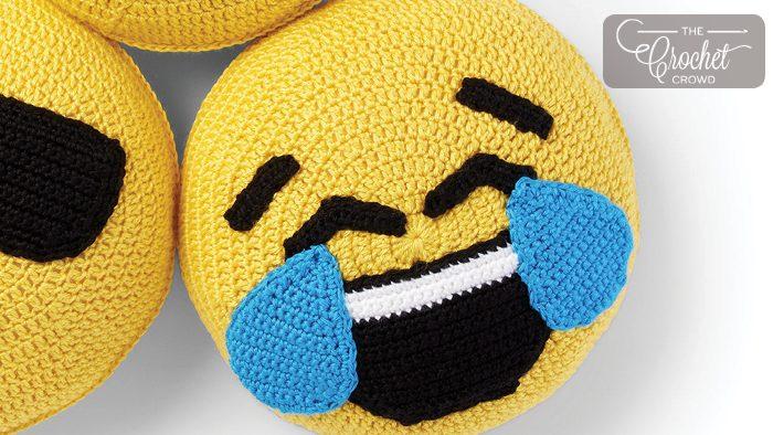 Tears of Joy Emoji Pillow