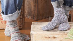 Crochet Toe Up Socks
