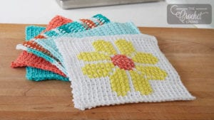 Tunisian Dishcloth