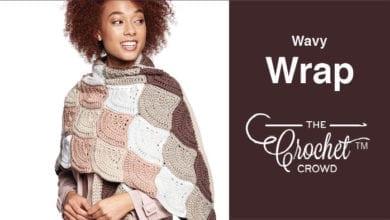 Crochet Wavy Wrap