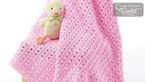 Crochet One Skein Baby Blanket
