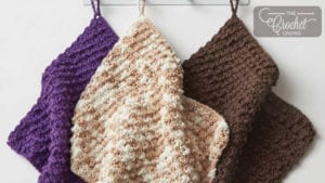 Crochet Dr Office Dishcloth Project
