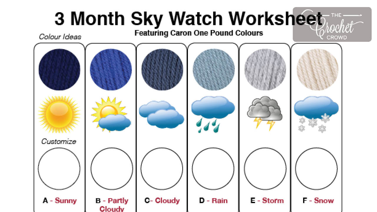Month Sky Watch Blanket