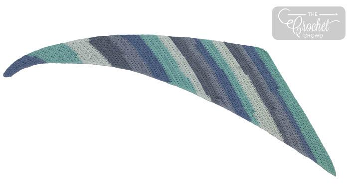 Crochet Millennial Shawl
