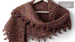 Crochet Boomerang Shawl