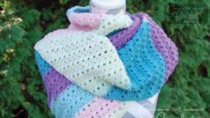 Crochet Asymmetrical Shawl