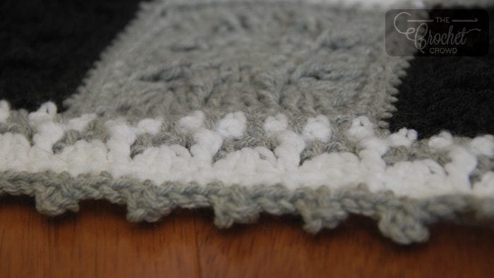 Crochet Social Textures Gingham Blanket by Jeanne Steinhilber