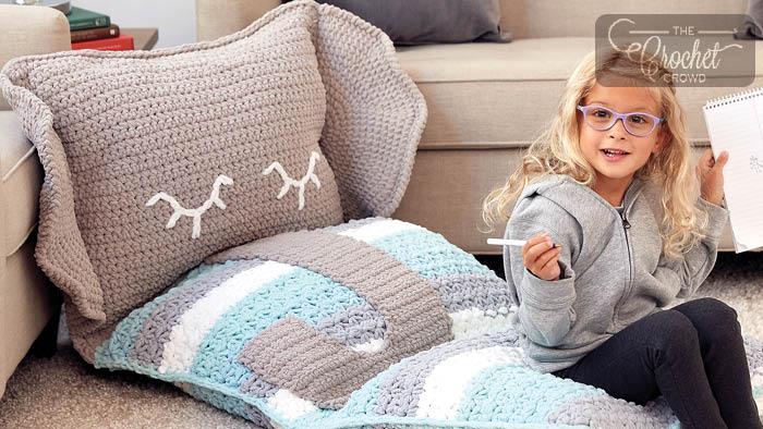 Crochet Elephant Floor Lounge