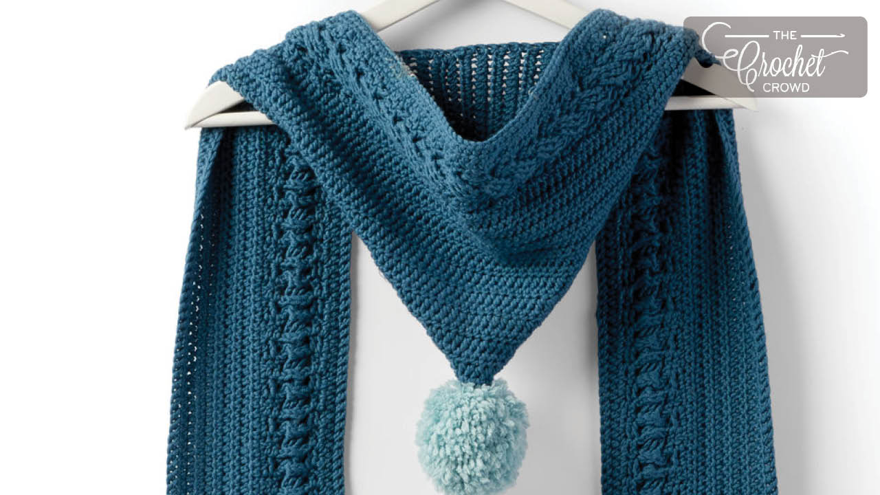Crochet Hooded Cable Scarf Pattern The Crochet Crowd