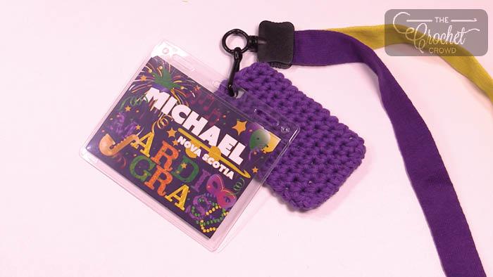 Crochet Key Card Holder + Tutorial