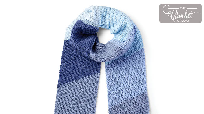 Crochet Lean On Me Scarf Pattern
