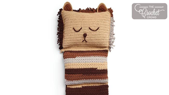 Crochet Lion Floor Lounge