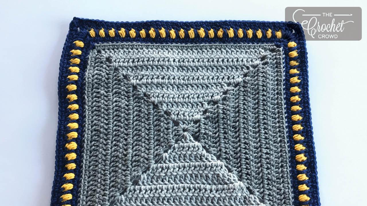 Crochet Broadway Mirror Square Pattern