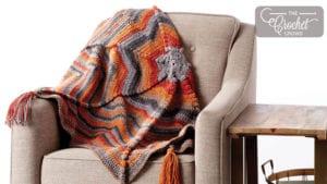 Radiating Crochet Blanket
