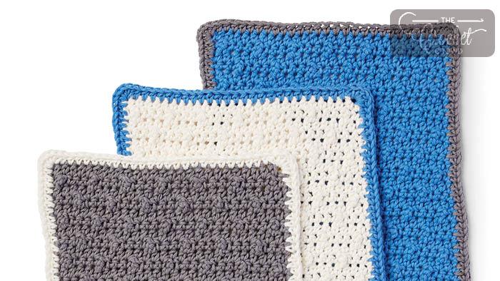 Crochet Scrubbing Up Dishcloth Pattern