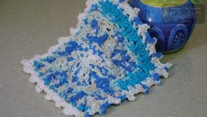 Crochet Social Textures Dishcloth by Jeanne Steinhilber