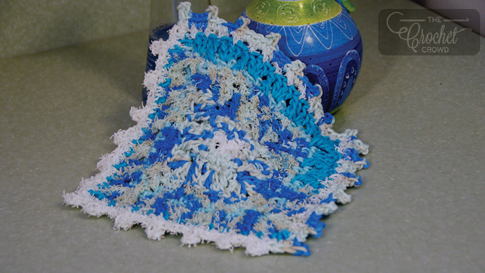 Crochet Social Textures Dishcloth