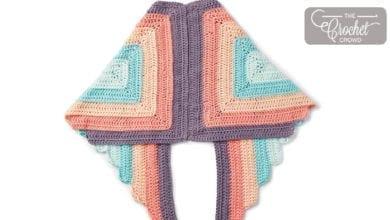 Crochet Spread Your Wings Shawl