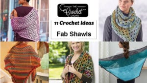 11 Crochet Shawl Ideas