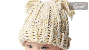 Crochet Baby Marly Yarn Hat