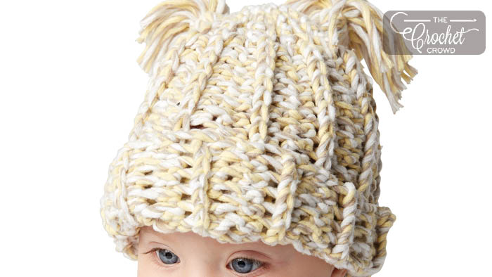Crochet Baby Marly Yarn Hat