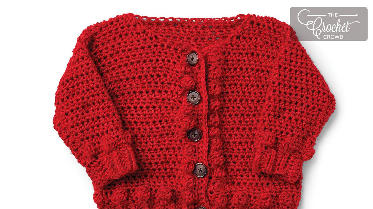 Baby Sweater Free Crochet Patterns The Crochet Crowd