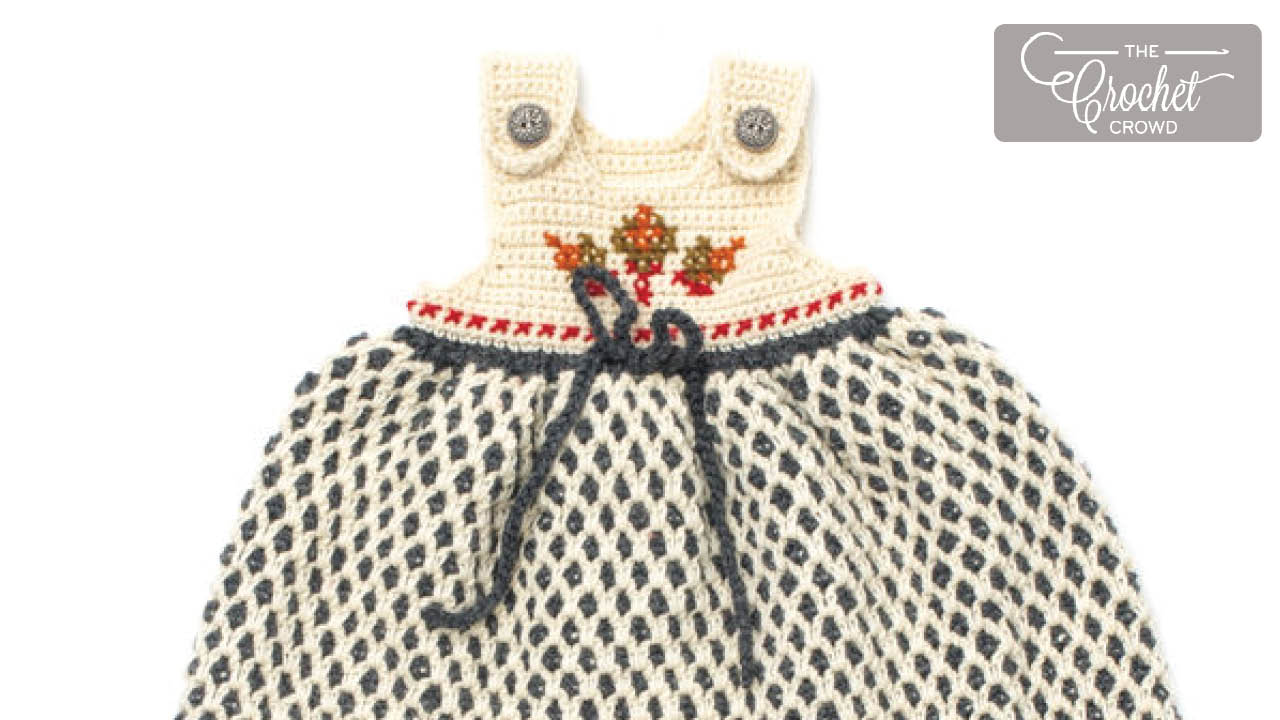 Baby Dress Free Crochet Patterns