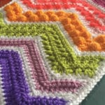 Crochet Stitch is Right Swatch