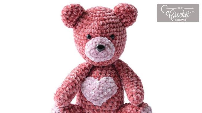Crochet Valentine Bear