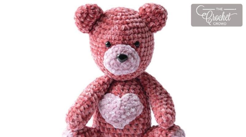3248ec3b75cf Crochet Valentine s Bear