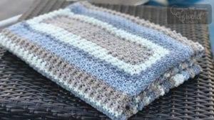 Extra Lemon Rectangle Blanket by Jeanne Steinhilber