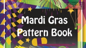 Mardi Gras Crochet Pattern Book