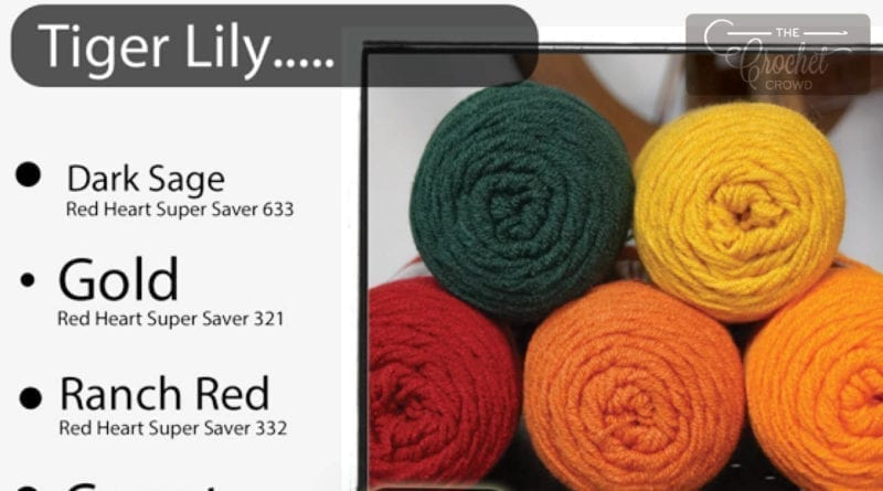 78 Color Combinations With Red Heart Super Saver The Crochet Crowd
