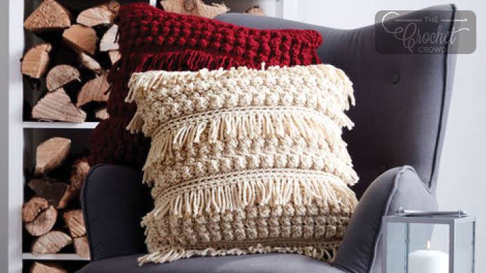 Bernat Tassel & Texture Pillows